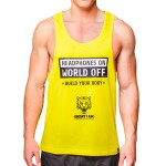 Camiseta Headphones On World Off